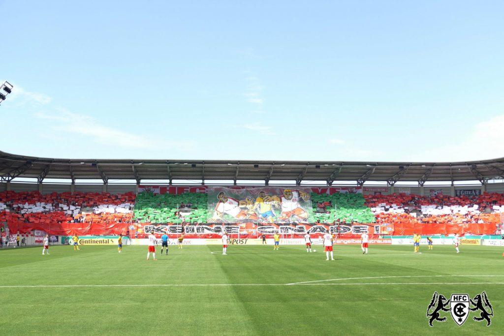 DFB-Pokal, 1. Runde: Hallescher FC vs. Eintracht Braunschweig
