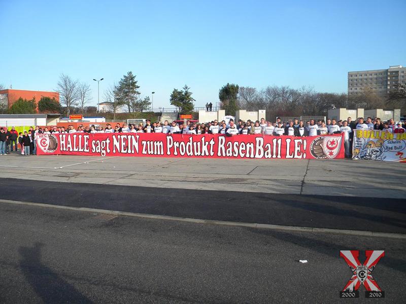 15. Spieltag: Hallescher FC vs. Rasenballsport Leipzig