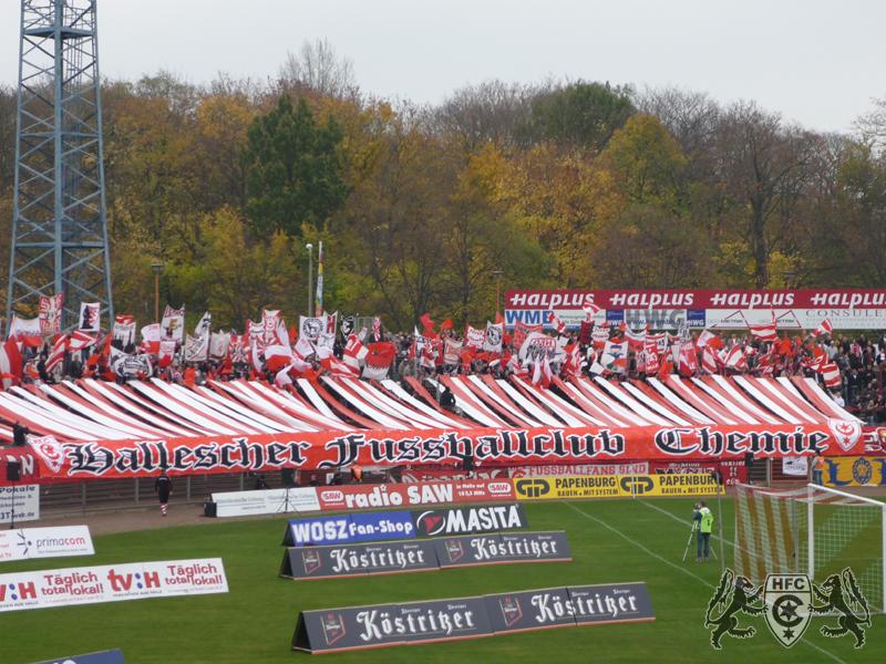 09. Spieltag: Hallescher FC vs. Chemnitzer FC