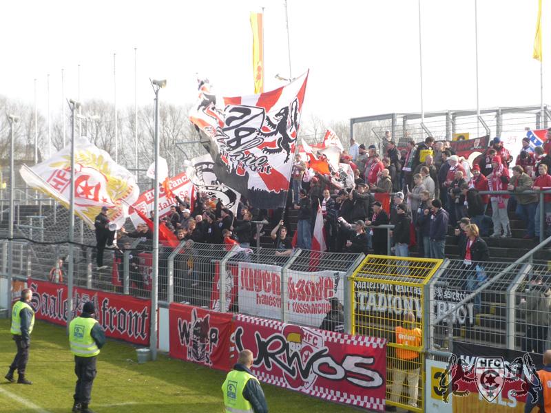 20. Spieltag: SV Wilhelmshaven vs. Hallescher FC