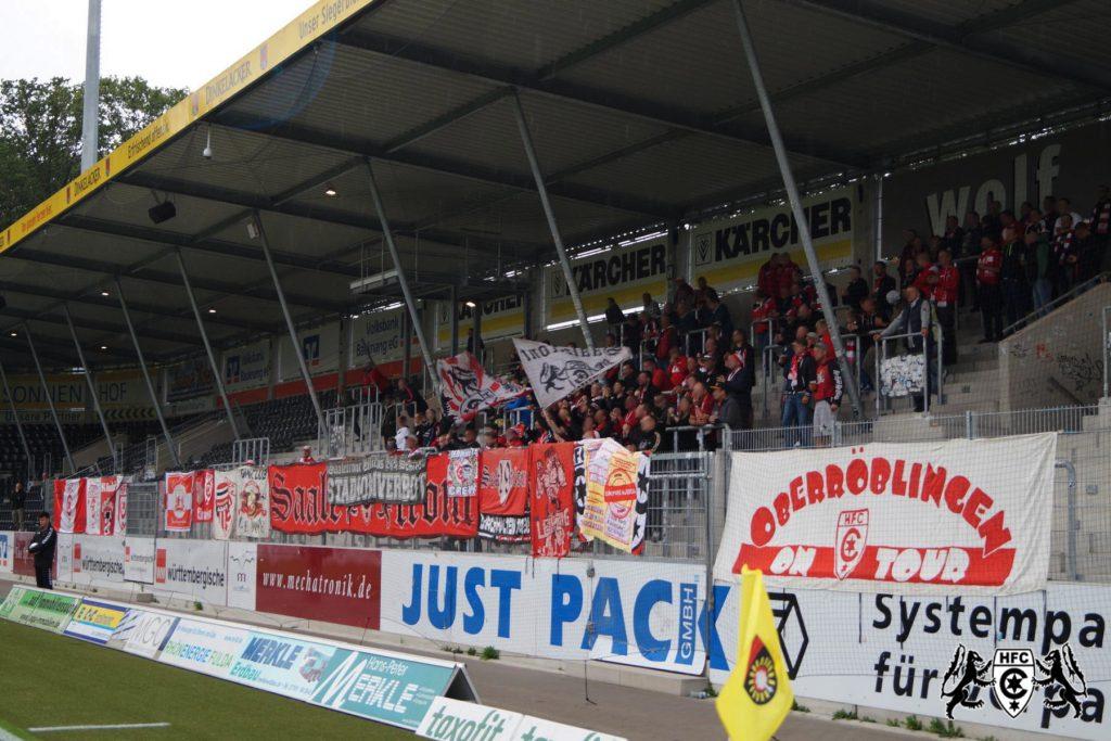 08. Spieltag: SG Sonnenhof Großaspach vs. Hallescher FC
