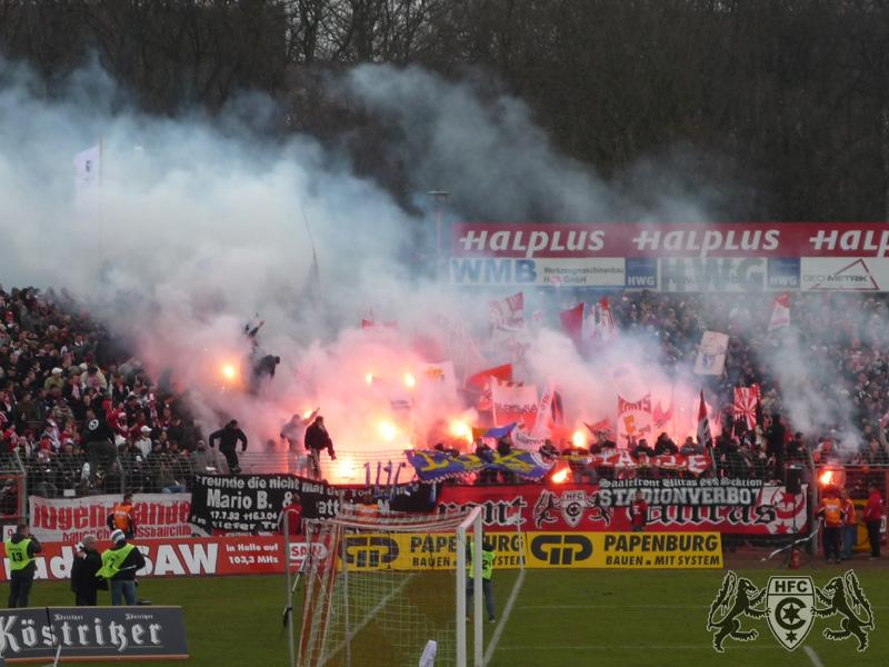 21. Spieltag: Hallescher FC vs. 1. FC Magdedorf