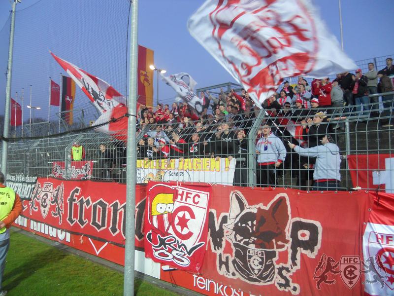 25. Spieltag: SV Wilhelmshaven vs. Hallescher FC