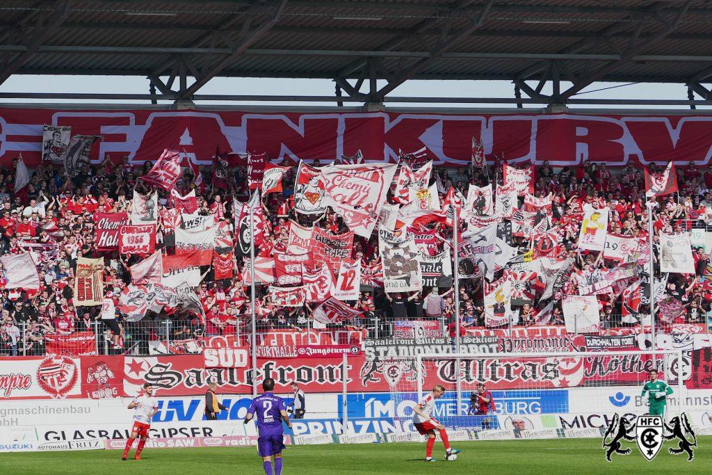 12. Spieltag: Hallescher FC vs. FC Erzgebirge Aue