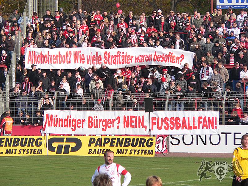13. Spieltag: Hallescher FC vs. VFC Plauen