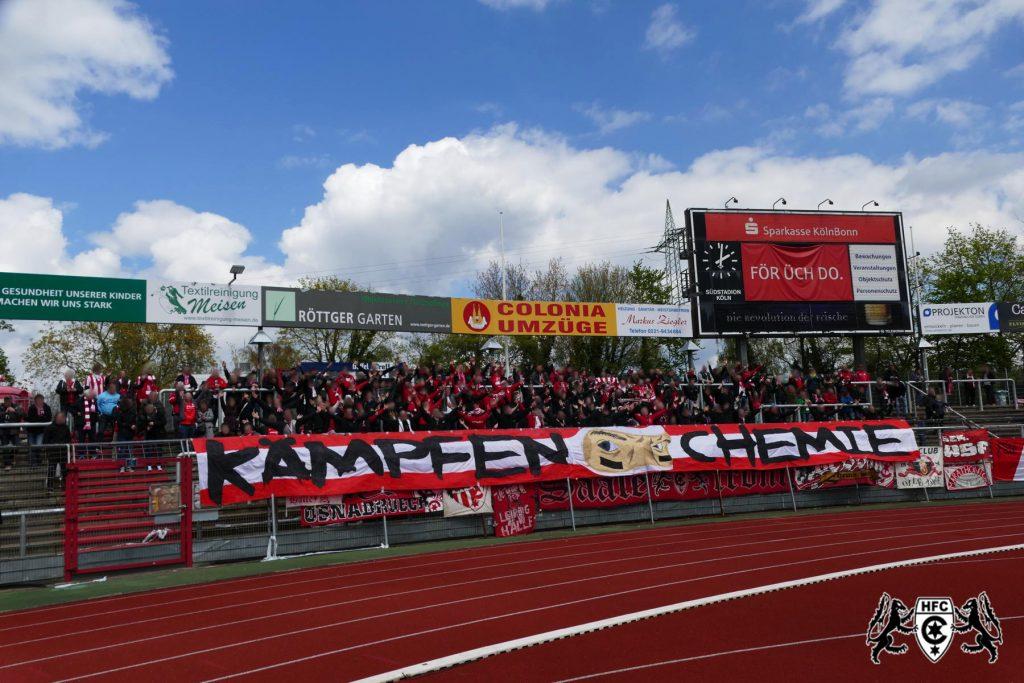 34. Spieltag: SC Fortuna Köln vs. Hallescher FC