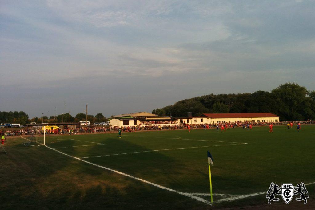 FSA-Pokal, 1. Runde: Blau Weiß Farnstädt vs. Hallescher FC