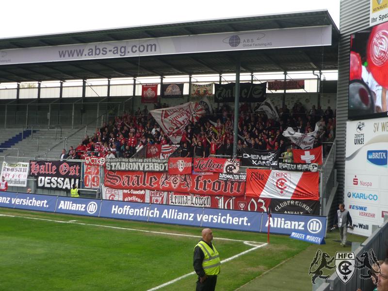 34. Spieltag: SV Wehen Wiesbaden vs. Hallescher FC