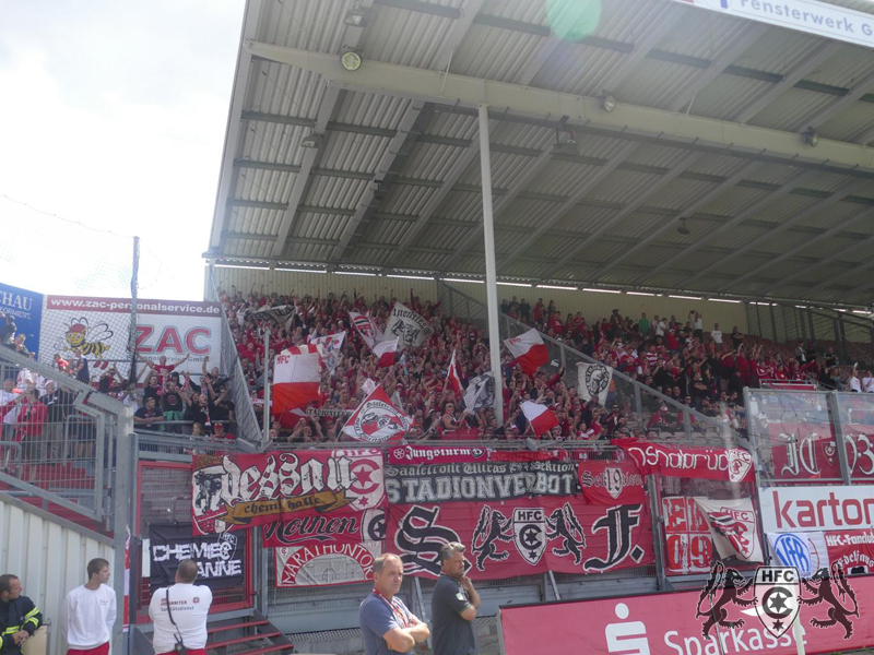 01. Spieltag: FC Energie Cottbus vs. Hallescher FC