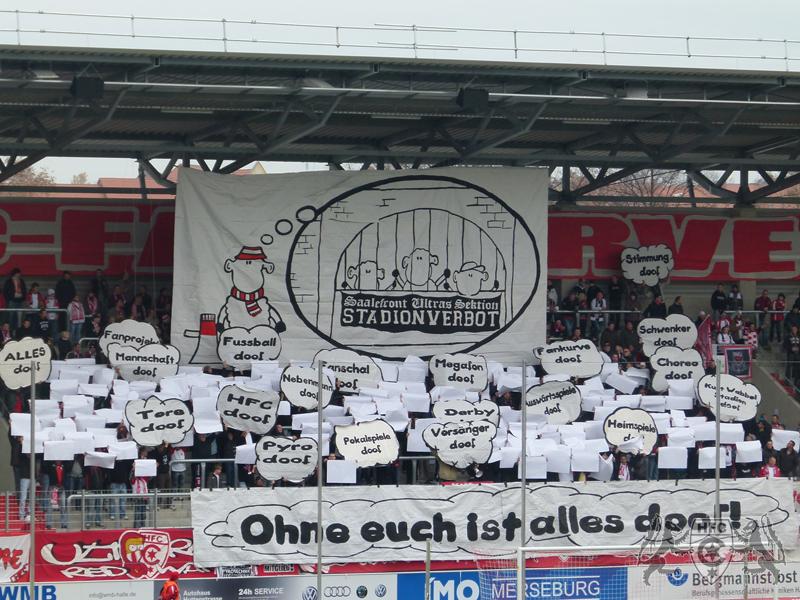14. Spieltag: Hallescher FC vs. FC Energie Cottbus II