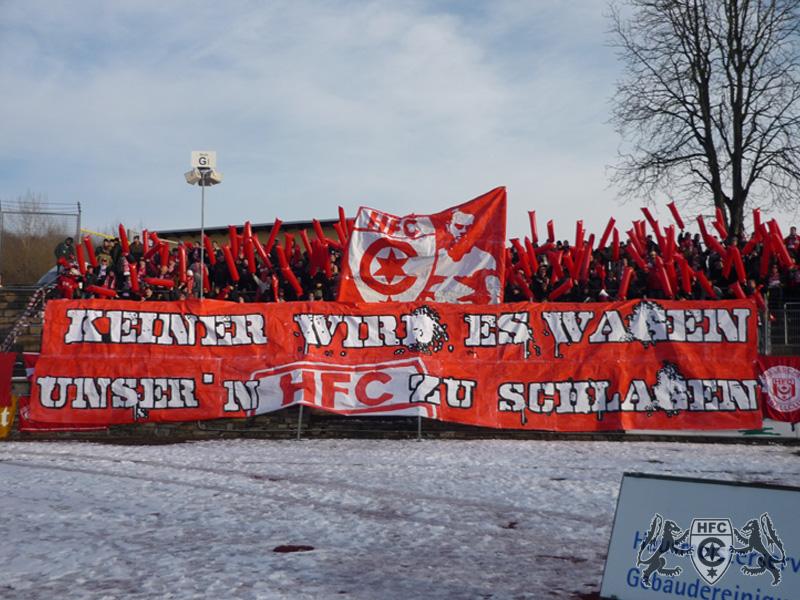 17. Spieltag: VFC Plauen vs. Hallescher FC