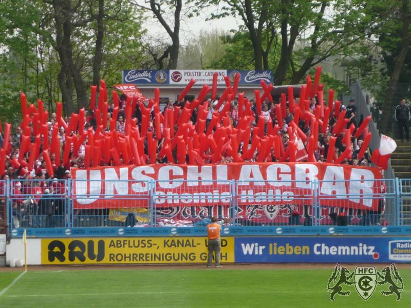 26. Spieltag: Chemnitzer FC vs. Hallescher FC