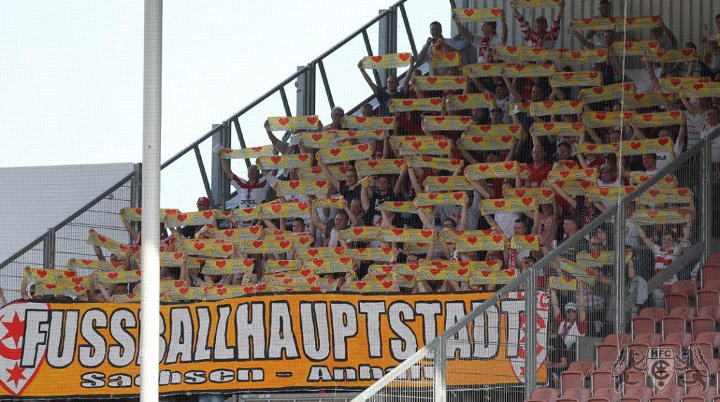 31. Spieltag: FC Energie Cottbus II vs. Hallescher FC