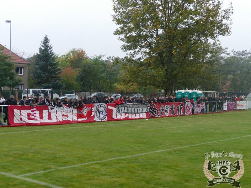 FSA-Pokal, 2. Runde: SV Union Heyrothsberge vs. Hallescher FC