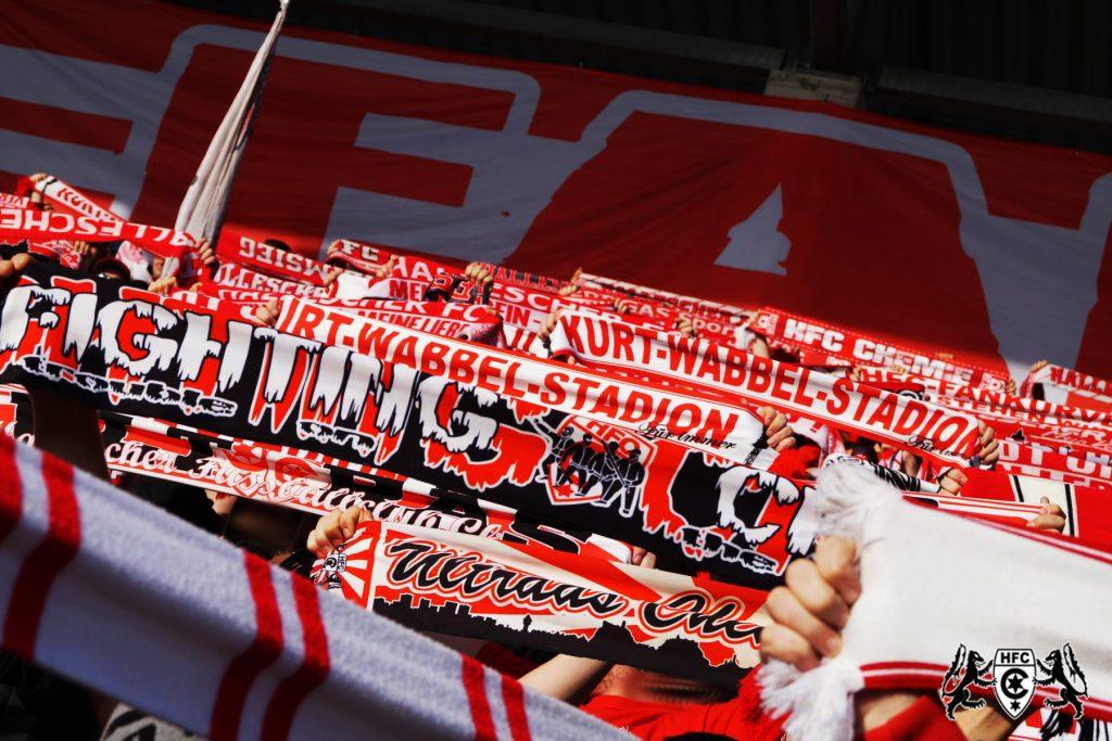 15. Spieltag: Hallescher FC vs. SC Fortuna Köln