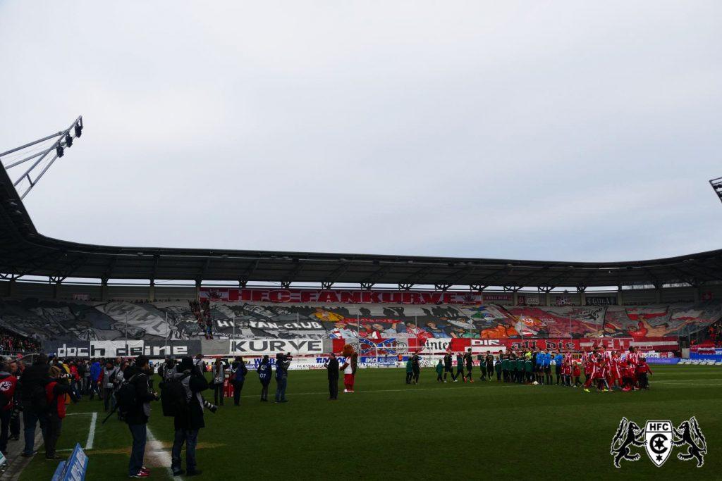 22. Spieltag: Hallescher FC vs. 1. FC Magdedorf