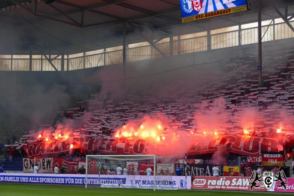 03. Spieltag: 1. FC Magdedorf vs. Hallescher FC