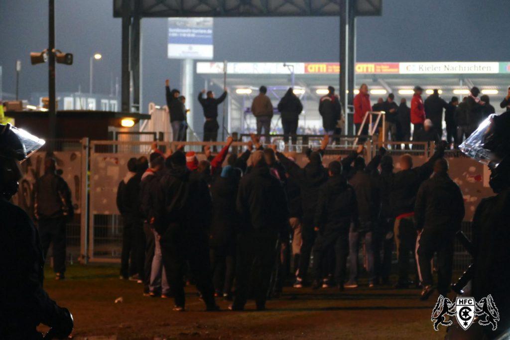 21. Spieltag: Holstein Kiel vs. Hallescher FC