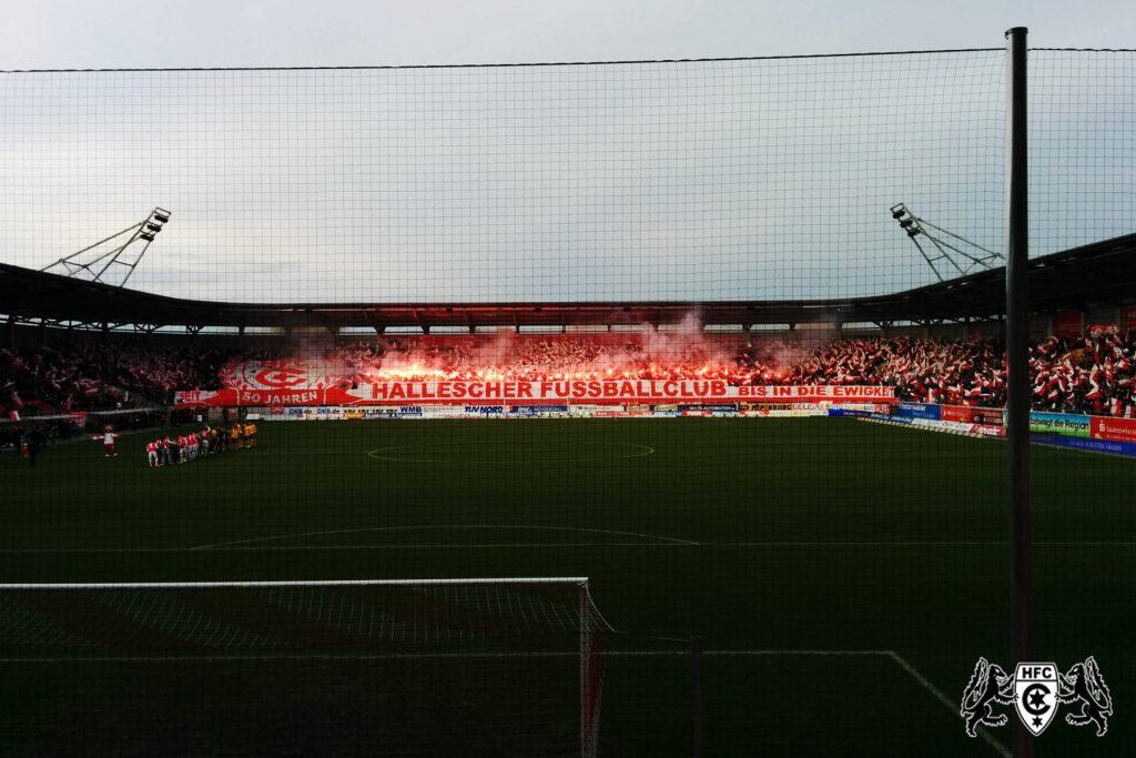 24. Spieltag: Hallescher FC vs. SG Dynamo Dresden