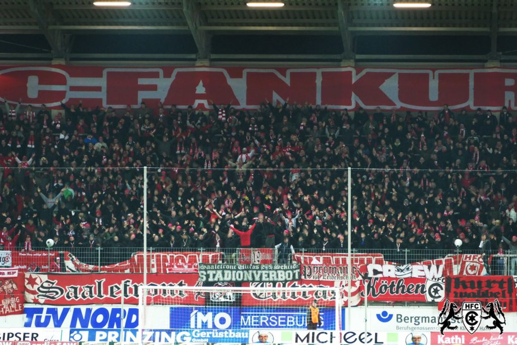 28. Spieltag: Hallescher FC vs. Würzburger Kickers