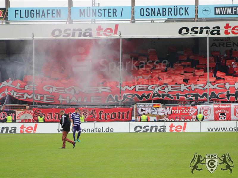 37. Spieltag: Hallescher FC vs. 1. FSV Mainz II 05