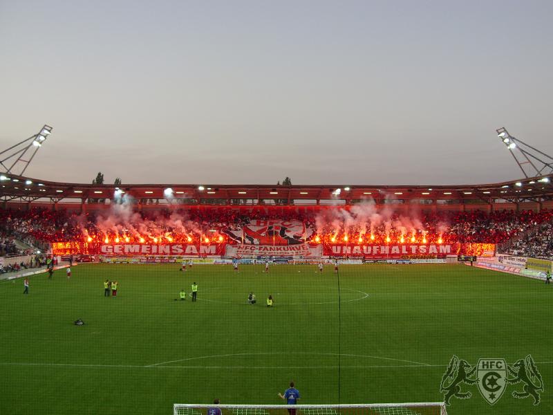 Eröffnungsspiel: Hallescher FC vs. Hamburger SV
