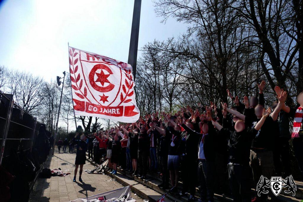 32. Spieltag: SV Werder Bremen II vs. Hallescher FC