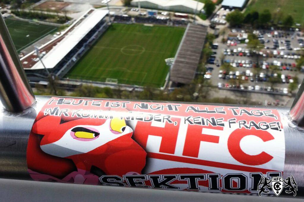 36. Spieltag: Stuttgarter Kickers vs. Hallescher FC