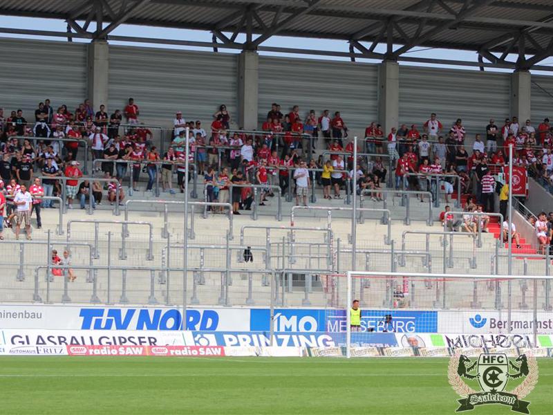 01. Spieltag: Hallescher FC vs. Chemnitzer FC
