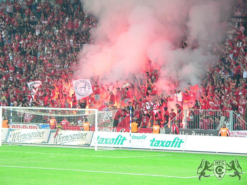 FSA-Pokal, Finale: 1. FC Magdedorf vs. Hallescher FC