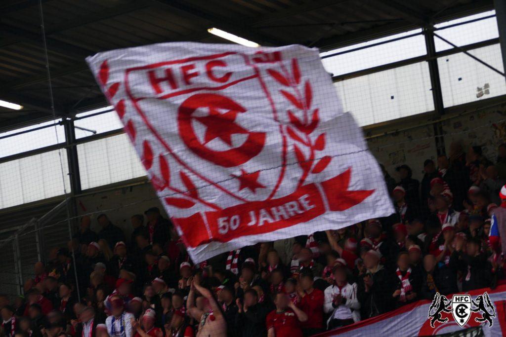 23. Spieltag: SV Wehen Wiesbaden vs. Hallescher FC