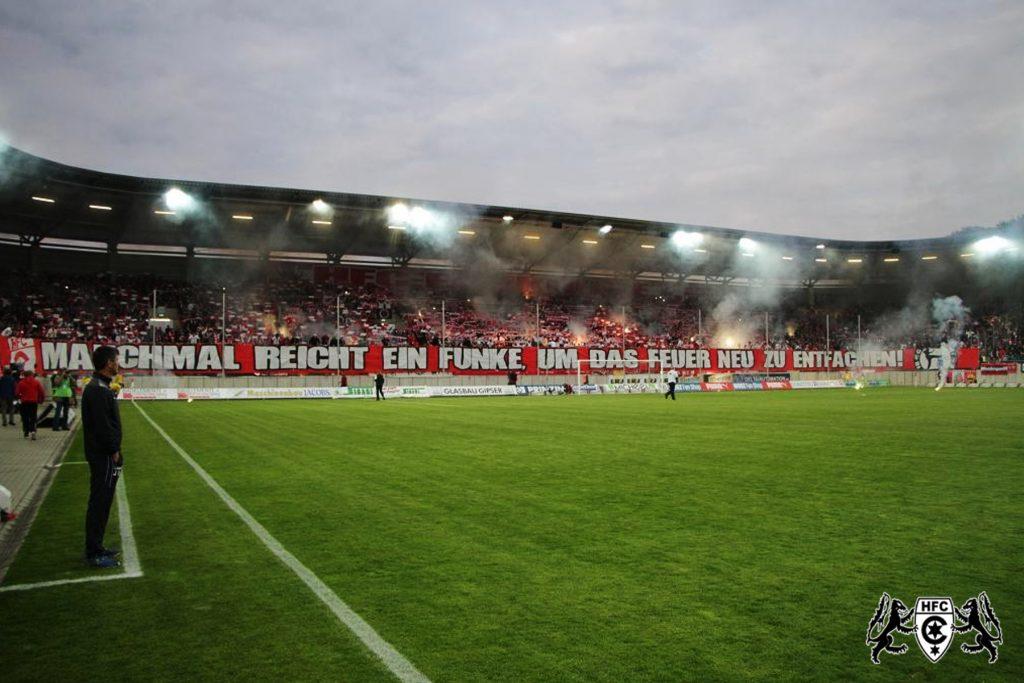 FSA-Pokal, Finale: Hallescher FC vs. 1. FC Magdedorf