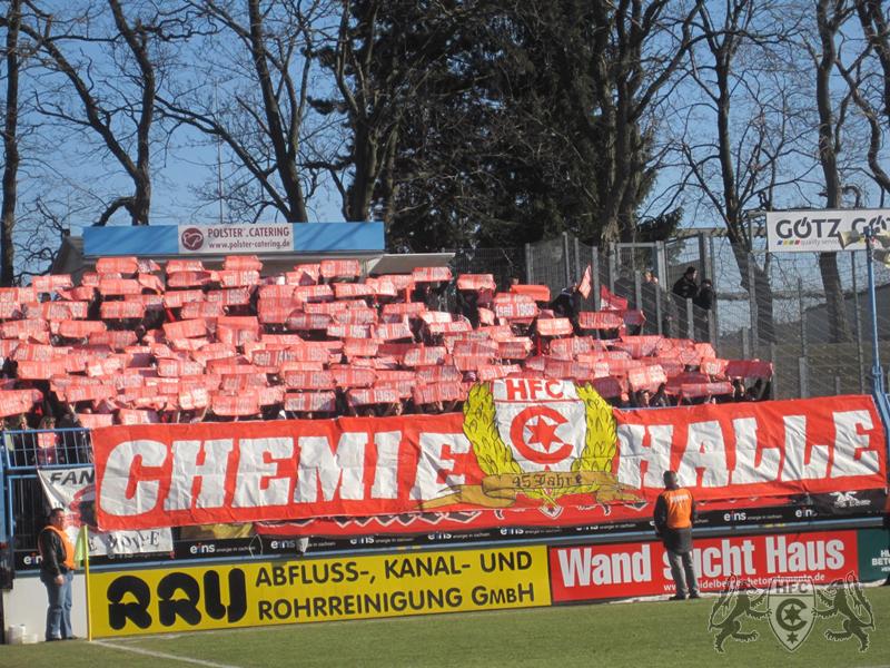 22. Spieltag: Chemnitzer FC vs. Hallescher FC