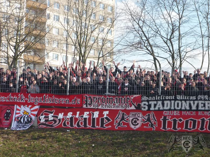 25. Spieltag: Hallescher FC vs. Eintracht Braunschweig II