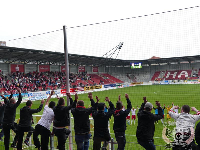 15. Spieltag: Hallescher FC vs. SV Wehen Wiesbaden
