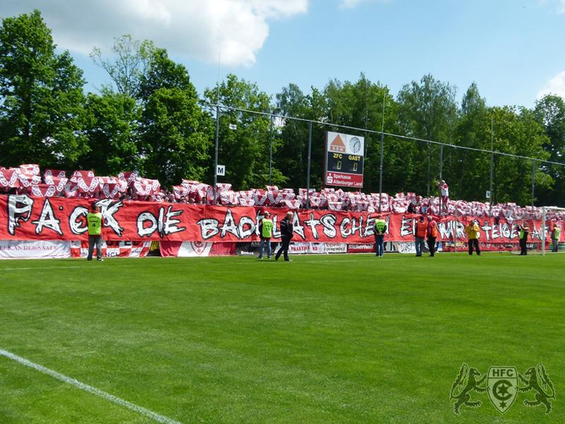 33. Spieltag: Zipsendorfer FC Meuselwitz vs. Hallescher FC