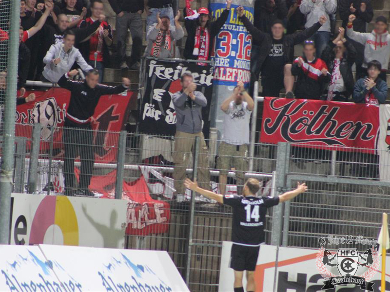 06. Spieltag: SpVgg Unterhaching vs. Hallescher FC