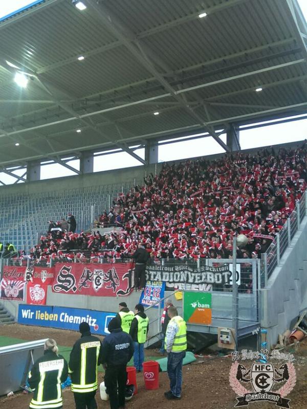 20. Spieltag: Chemnitzer FC vs. Hallescher FC