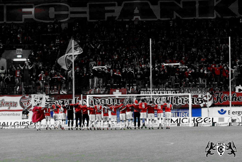 10. Spieltag: Hallescher FC vs. FC Rot Weiß Erfurt