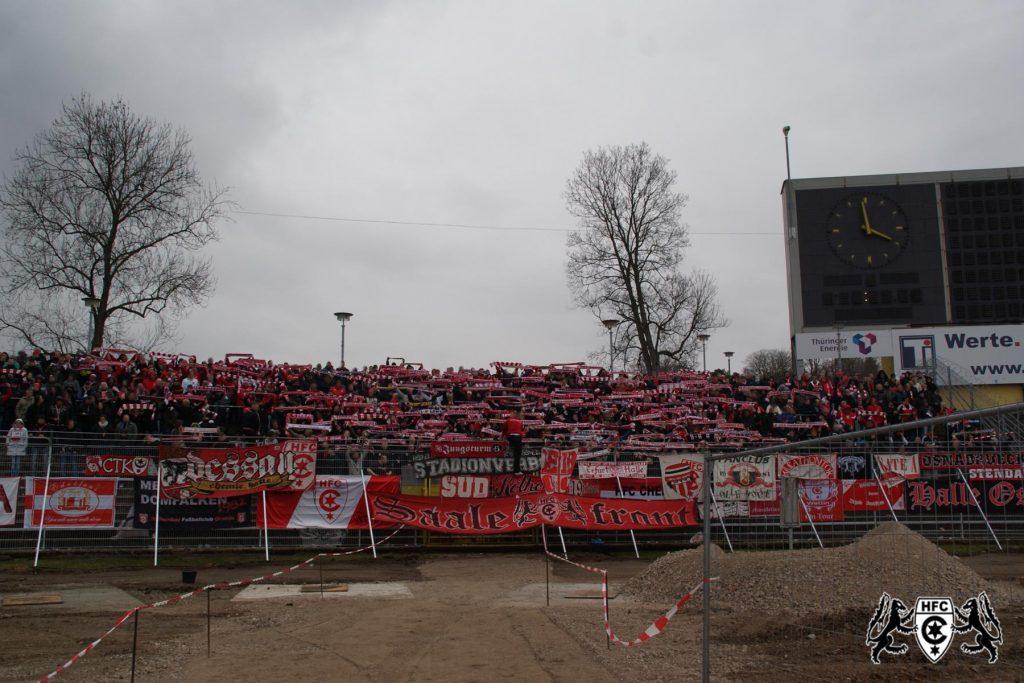 29. Spieltag: FC Rot Weiß Erfurt vs. Hallescher FC