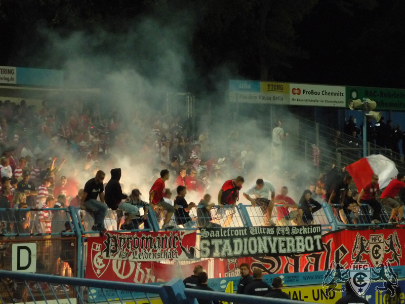 4. Spieltag: Chemnitzer FC vs. Hallescher FC