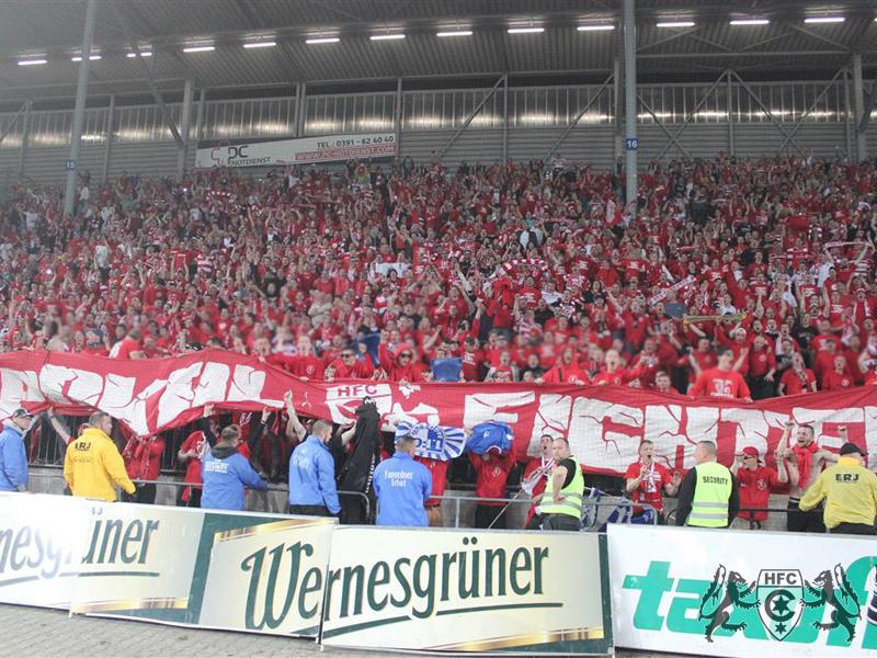 FSA-Pokal, Halbfinale: 1. FC Magdedorf vs. Hallescher FC