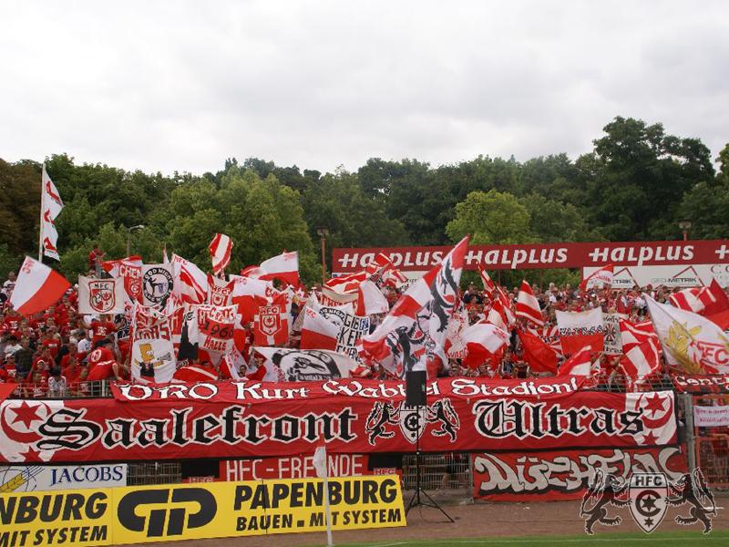 FSA-Pokal, Halbfinale: FC Grün-Weiß Wolfen vs. Hallescher FC