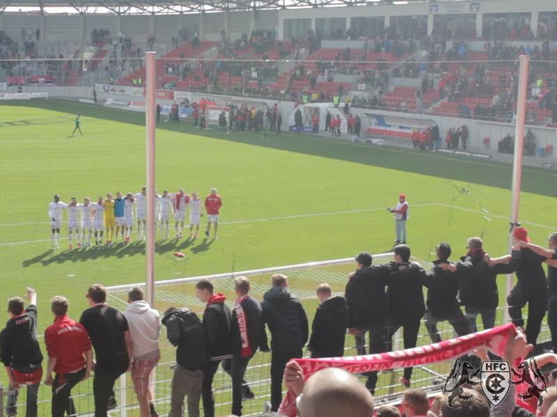 31. Spieltag: Hallescher FC vs. SC Preußen Münster