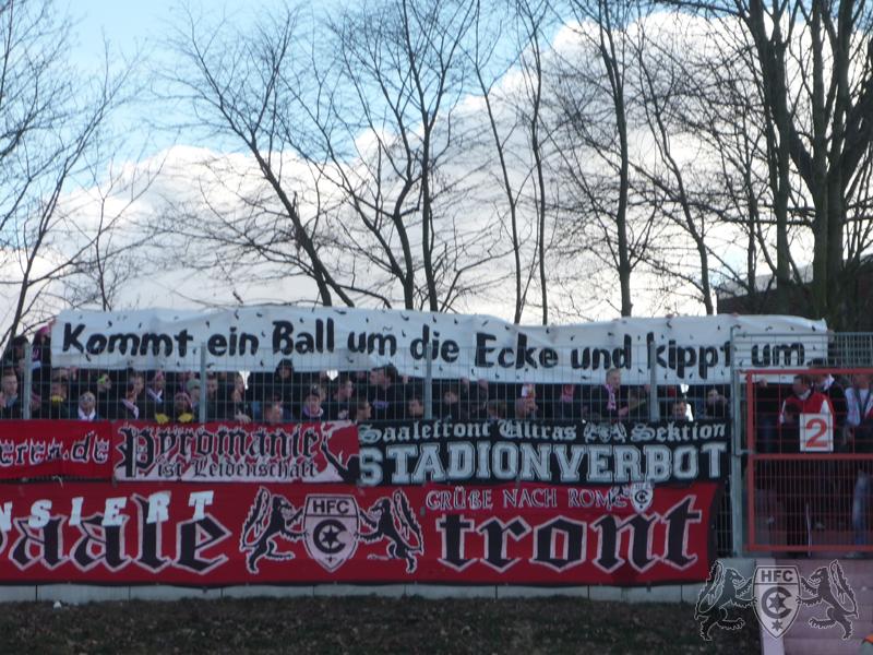 23. Spieltag: Hallescher FC vs.TSV Havelse
