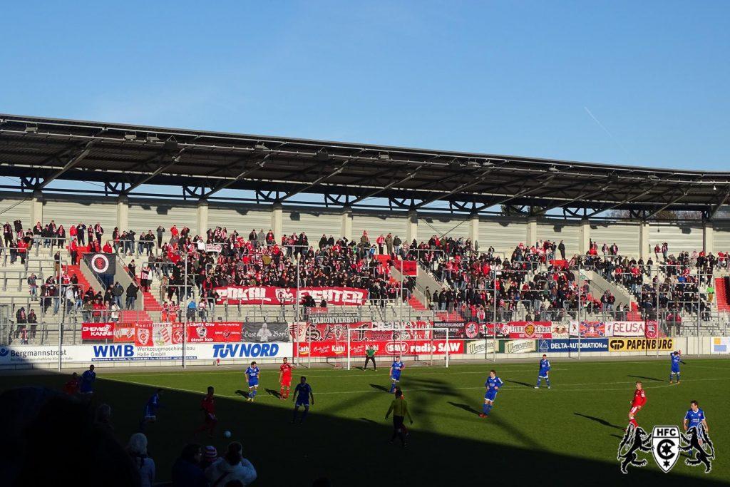 FSA-Pokal, Achtelfinale: Hallescher FC vs. SV Westerhausen 1890