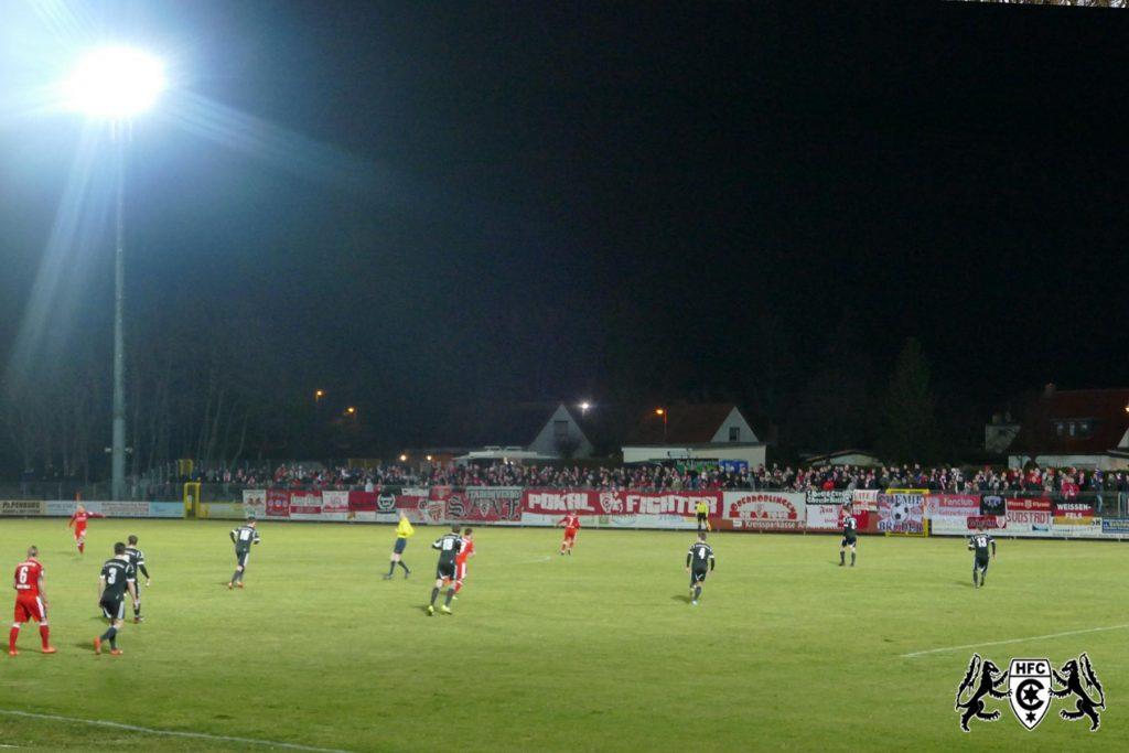 FSA-Pokal, Viertelfinale: SG Union Sandersdorf vs. Hallescher FC