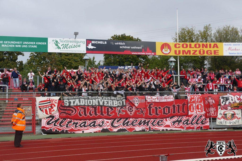 10. Spieltag: SC Fortuna Köln vs. Hallescher FC