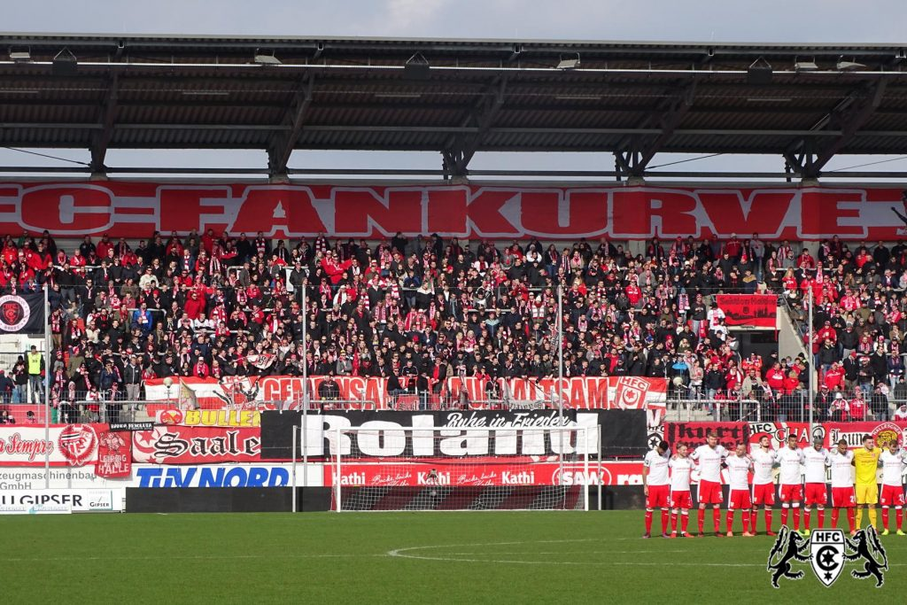 24. Spieltag: Hallescher FC vs. SG Sonnenhof Großaspach