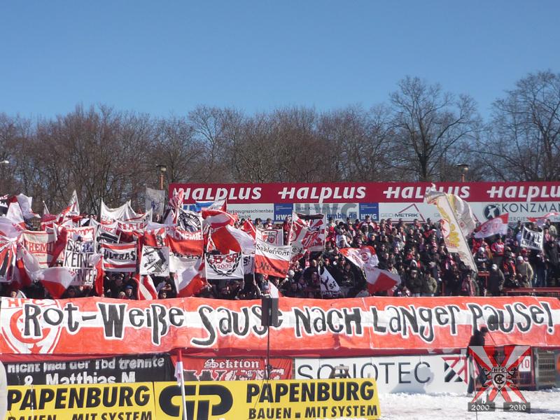 23. Spieltag: Hallescher FC vs. FC Oberneuland